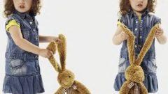 Kız Çocuk Kot Elbise Modelleri