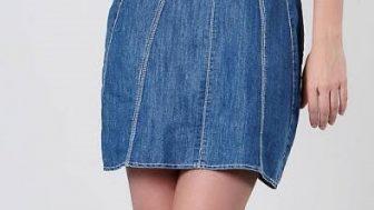 Yazlık Bayan Kot Elbise Modelleri