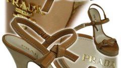 Prada Yazlık Bayan Ayakkabı Modelleri