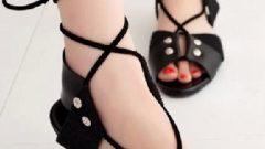 Yazlık Bayan Bandajlı Ayakkabı Modelleri