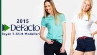 Yeni Sezon Defacto Bayan Tişört Modelleri