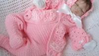 Örgü Bebek Takımı Modelleri