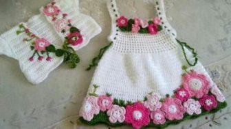 Baharlık Kız Çocuk Elbise Modelleri