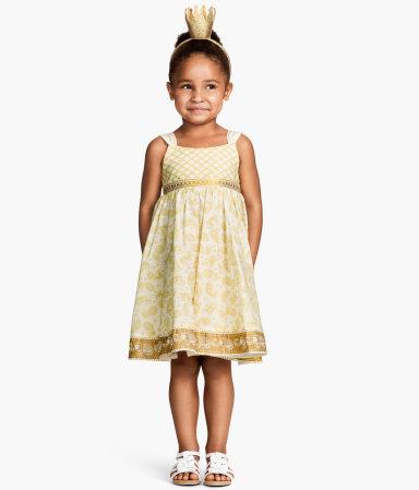 H And M Bebek Tulum Askılı robalı H&M yazlık kız çocuk elbise modeli - Kadın ...