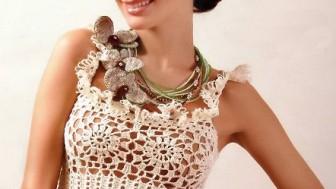 Yeni Örgü Yazlık Bayan Bluz Modelleri