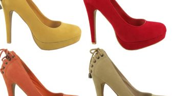 Bayan Topuklu Süet Ayakkabı Modelleri