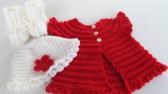 Tığ İşi Örgü Bebek Yelek Modelleri