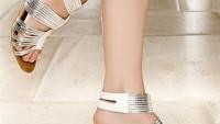 Yazlık Bayan Alçak Topuklu Ayakkabı Modelleri