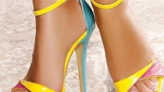 Yazlık Bayan Bantlı Ayakkabı Modelleri
