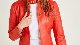 Derimod Bayan Deri Ceket Modelleri