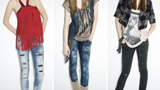 Bayan Yırtık Kot Pantolon Modelleri