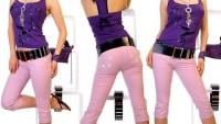 Yazlık Bayan Kapri Pantolon Modelleri