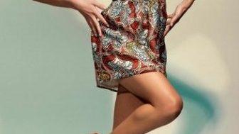 Batik Bayan Yazlık Elbise Modelleri