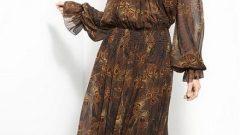 Bayan Uzun Kollu Elbise Modelleri