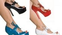 Yazlık Bayan Platform Topuklu Ayakkabı Modelleri