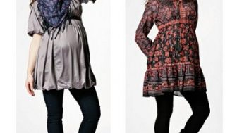 Kışlık Hamile Elbisesi Modelleri