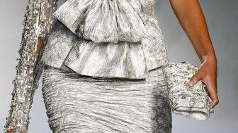 Bayan Asimetrik Elbise Modelleri