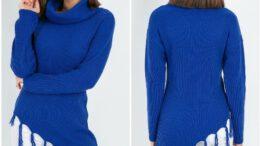 Triko Kışlık Kadın Kazak Modelleri