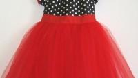 Yazlık Kız Çocuk Puantiyeli Elbise Modelleri