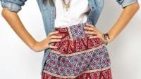 Yazlık Bayan Mini Etek Modelleri