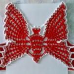 Kelebekli yazlık kız çocuk yelek modeli
