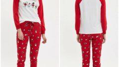 Defacto Kışlık Kadın Pijama Takımı Modelleri
