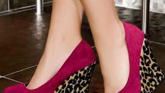 Kışlık Bayan Dolgu Topuklu Ayakkabı Modelleri