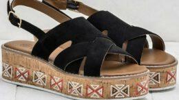 Elle Yazlık Dolgu Topuklu Kadın Sandalet Modelleri