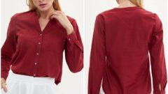 DeFacto Kışlık Uzun Kollu Bayan Gömlek Modelleri