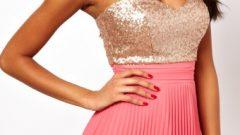 Bayan Payetli Elbise Modelleri