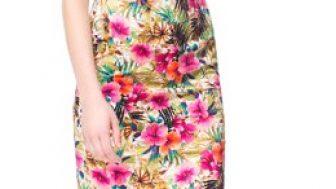 Zara Yazlık Bayan Elbise Modelleri