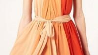 Boyundan Bağlamalı Bayan Elbise Modelleri