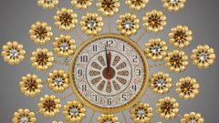 Taş İşlemeli Duvar Saati Modelleri