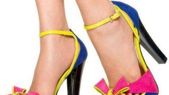 Fiyonklu Topuklu Ayakkabı Modelleri