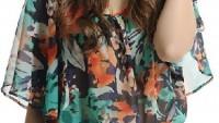 Rengarenk Yazlık Bayan Bluz Modelleri