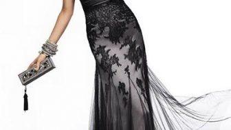 Bayan Kışlık Abiye Elbise Modelleri