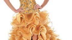 Modern Yazlık Nişan Elbisesi  Modelleri