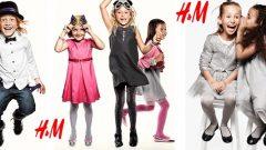H&M Yazlık Kız Çocuk Elbise Modelleri