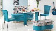 Modern Banklı Mutfak Masası Modelleri