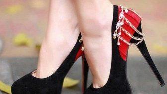 Bayan Aksesuarlı Ayakkabı Modelleri