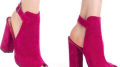 Kadınların Vazgeçilmezi Topuklu Ayakkabı Modası