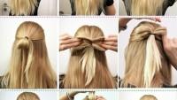 Okula Giden Kız Öğrenciler İçin Kolay Saç Modelleri