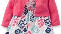 Carters Kız Bebek Elbise Modelleri