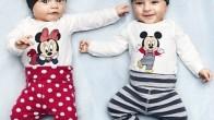 Mikcy Mause Desenli Bebek Kıyafetleri Modelleri