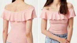 De-Facto Kadın Tişört Modelleri