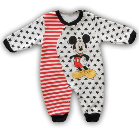 H And M Bebek Tulum yıldızlı mıckey mause desenli bebek tulum modeli - Kadın ...